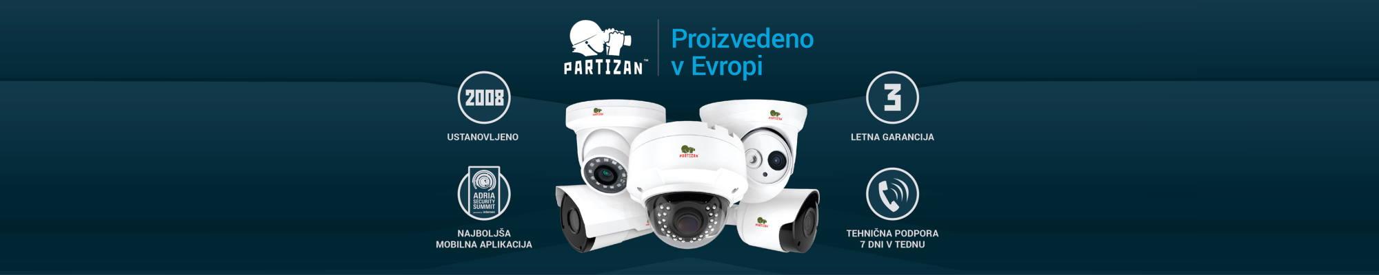 Partizan kamere
