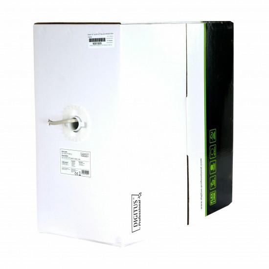 Kabel CAT.5e SF-UTP flex 4x2 AWG26 305m Digitus