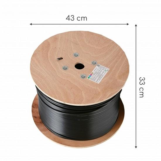 Kabel CAT.5e FTP 4x2 AWG24 300Mhz Euroclass Eca 500m ZUNANJI KELine