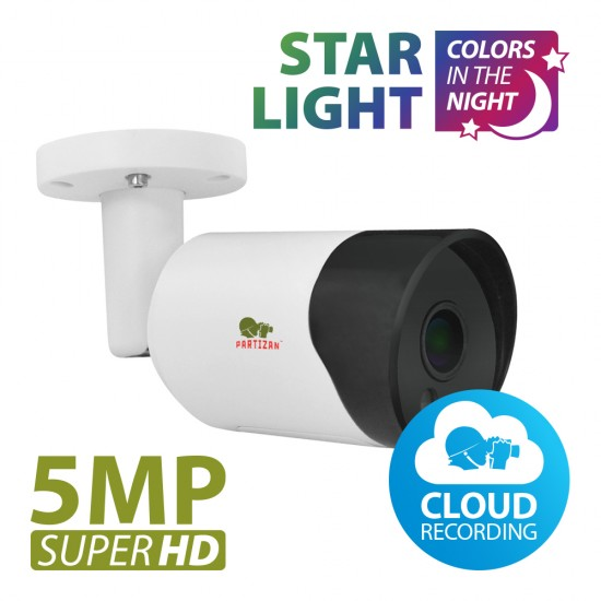 5.0MP IP kamera IPO-5SP Starlight 1.0 Cloud