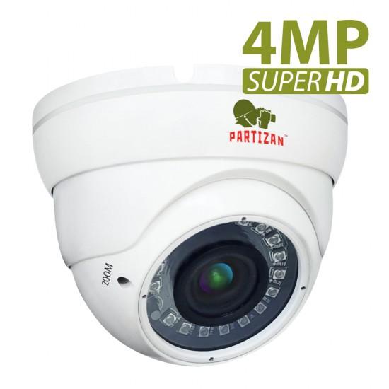 4.0MP AHD Varifokal kamera CDM-VF37H-IR SuperHD 4.3