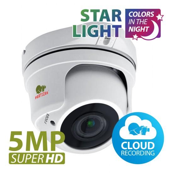 5.0MP IP Varifocal camera IPD-VF5MP-IR Starlight 3.3 Cloud